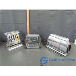(3) Vintage Toasters