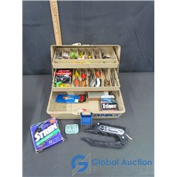 Old Pal Tackle Box with Contents