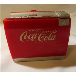RARE VINTAGE COCA COLA COOLER TOY MUSIC BOX
