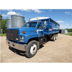 1994 GMC Topkick T/A Grain Truck W/ 20 ft. Courtney Berg Steel Box