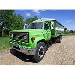 1979 Chevrolet C70 S/A Grain Truck W/ 16 ft. Steel Box
