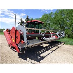 Case IH 8830 S/P Swather W/ 21 ft. Universal Pickup reel