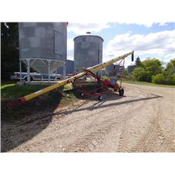 "Westfield TF80-46 Grain Auger, 8"", 46 FT., W/ hyd. mover / transport"