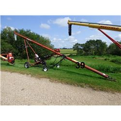 "Sakundiak HD7-41 Grain Auger, 7"", 41 FT., W/ hyd. mover / transport"