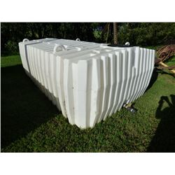 1950 Gallon Poly Water Tank