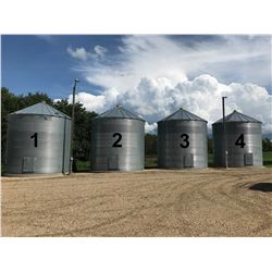 Westeel Rosco ±4800 Bushel Grain Bin, On Cement