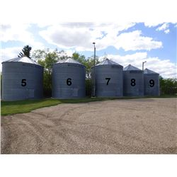 Westeel Rosco ±4800 Bushel Grain Bin, On Cement
