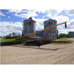 Butler ±1800 Bushel Hopper Bottom Grain Bin