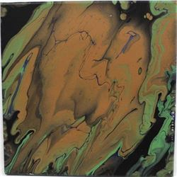 Original Oil Drip Painting by Savarese