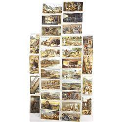 Antique British Wills Tobacco Co. Mining Cards