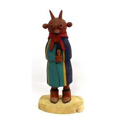1996 Hopi Mud Head Kachina by Edward Nutumya