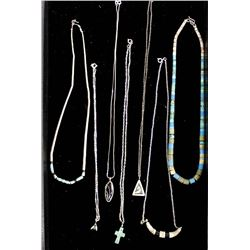 7 Necklaces, Most Are Native American