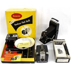 3 Vintage Kodak Cameras