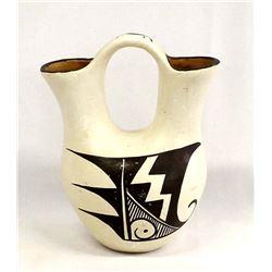 Isleta Pottery Wedding Vase by Stella Teller