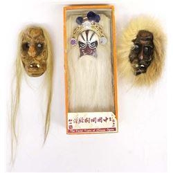 3 Ethnic Masks