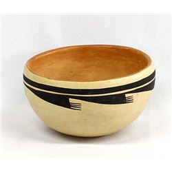Native American Hopi Pottery Bowl Evelyn Poolheco