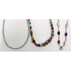 3 Native American Necklaces