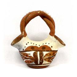 Vintage Isleta Polychrome Pottery Wedding Vase