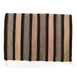 Navajo Wool Textile Rug by Bettie R. Yazzie