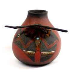 Gourd Art by Renowned New Mexico Artist R. Rivera