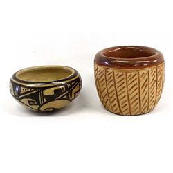 2 Pieces of Native American Pottery