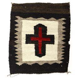 Native American Navajo Wool Textile Rug