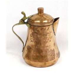 Solid Copper Pitcher