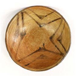 Vintage Hopi Pottery Shallow Bowl