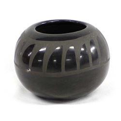 Vintage Santo Domingo Pottery Bowl, Carmel Romero