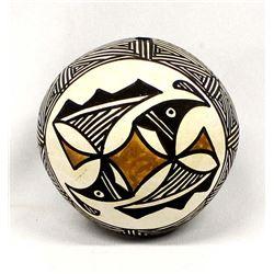 Acoma Pottery Seed Jar by Joyce Leno-Barreras
