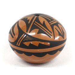 Native American Jemez Pottery Seed Jar, Loretto