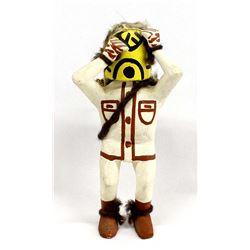 """Vintage Hopi Hopi Yellow K""""k""""le Kachina"""