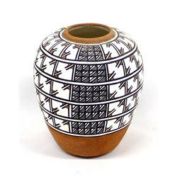 Santo Domingo Pueblo Pottery Jar by Mabel Lourdes