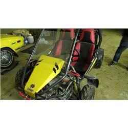 Yellow Dune buggie Buggies Carbide with Reverse