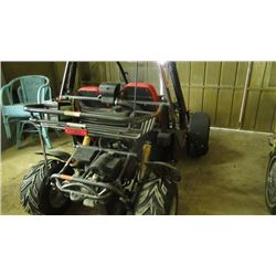 Red Dune buggy Buggies Carbide w/ reverse