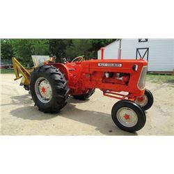 Allis D17 gaslater model refurbished tractor new rubber