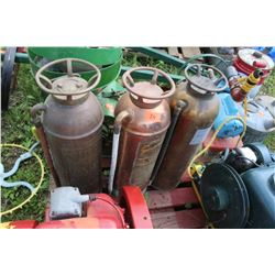 3 Copper Fire Extinguishers  ***MUST pickup