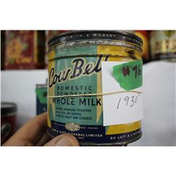 CowBell Domestic Powdered Whole Milk Tin