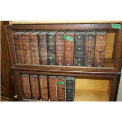 Americana Encyclopedia Set - Vol 1 to 16 - Copyright 1903 - 1906  (Leather Spine)**Very Heavy