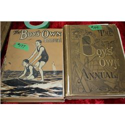 (1) 'The Boy's Own Annual' Vol.2 2 (1899-1900) (1) 'The Boy's Own Annual' & Vol. 52 (1929 - 1930)  *