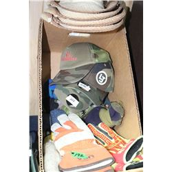 Box with Hats, Gloves & Caps