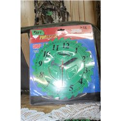 Saw Blade Clock - Battery Operated