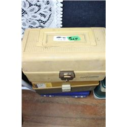 3 Fishing Tackle Boxes - All Plastic