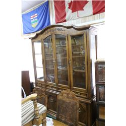 Skylar Peppler (Ont. Canada) Dining Room Suite - 2 pc China Cabinet, Table w/2 Leaves, 5 Chairs & 1