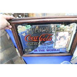 Coca Cola Mirrored Picture
