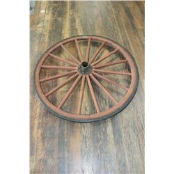 """Buggy Wheel - 39"""" tall   ***Pick up"""