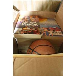 A Box of Paperback Books