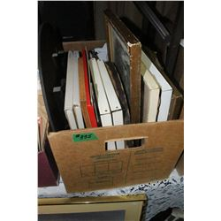 Box with Framed Pictures   ***Heavy