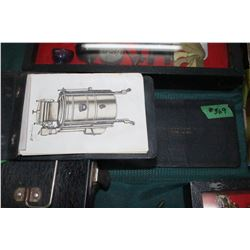 2 Salesman's Booklets w/Pictures of Gas Washing Machines & Bits of Interesting Extras (Very Old)
