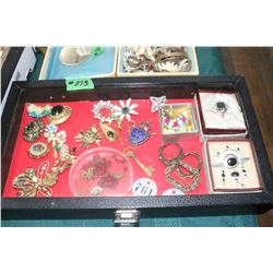 Box of Brooches (display not included)